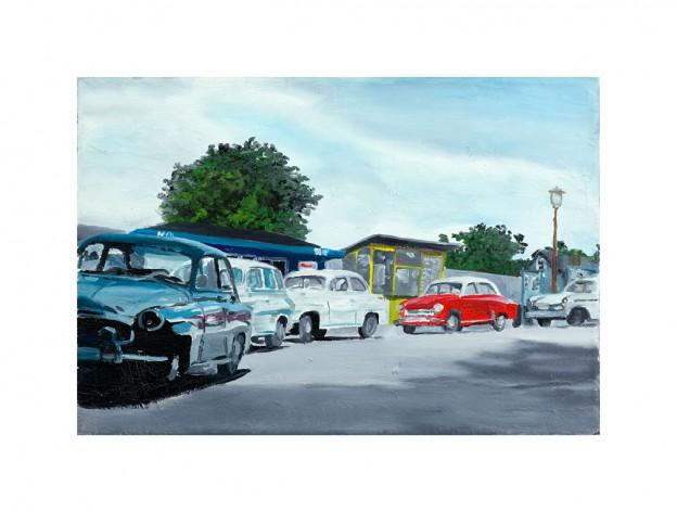 Parkende Autos II